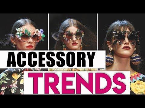 Fall Fashion Accessory Trends 2018