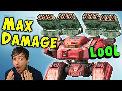 MAX Damage Mk2 ZENIT BEHEMOTH Troll - New War Robots Gameplay WR