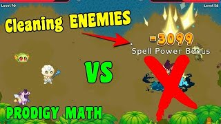 Cleaning ENEMIES in SHIPWRECK SHORE 👿 | Prodigy Math Game 🔴