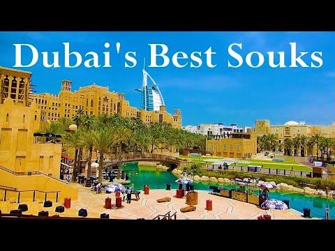 Top 5 Dubai's Souks and Markets. City's Top Arabian Markets. Dubai's Bazaars.