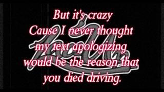 Machine Gun Kelly - All We Have (lyrics video)