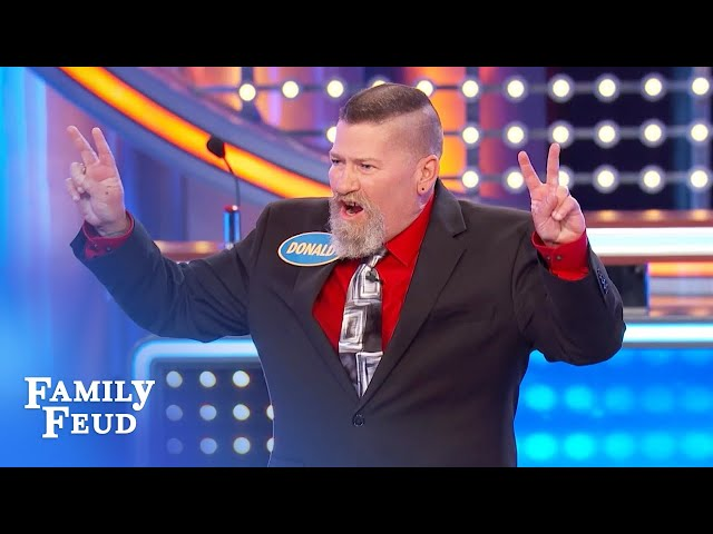 Can the Lathams lock up another $20,000? | Family Feud