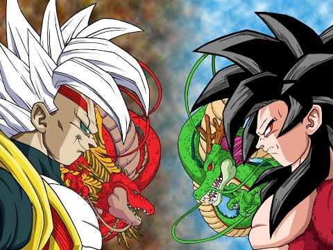 Las mejores soundtrack de dragon ball z gt primer video - Goku vs vegeta super saiyan 5 ...