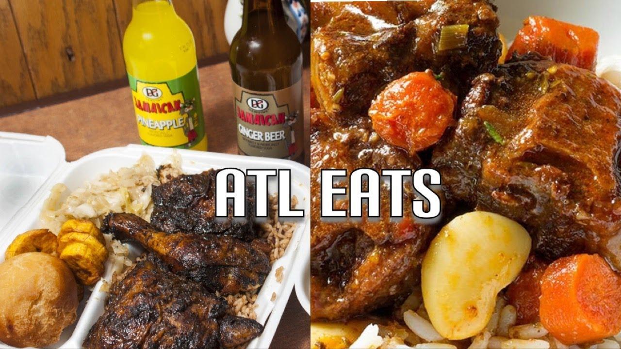 2019 The Best Jamaican Food In Atlanta Georgia Youtube