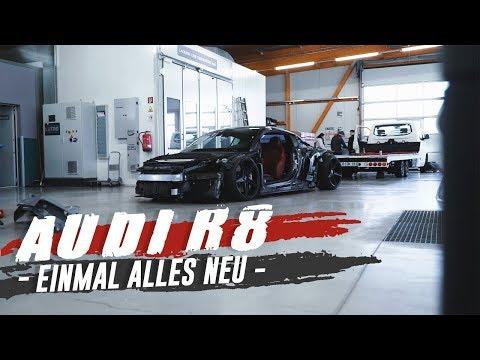 HOLYHALL | AUDI R8 | EINMAL ALLES NEU!