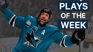 NHL Plays of The Week: Week 6 Edition - Rinne Reaches Back, Thornton Gets 400 and More!