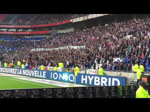 Chant Bad gones OL vs Dijon 19 Février 2017