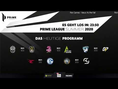 VOD: SK Gaming P vs GamerLegion - Prime League 2020 - BO1