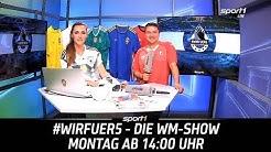 ReLIVE 🔴 | So kommt Deutschland weiter - die Szenarien | #wirfuer5 - Die WM-Show | SPORT1
