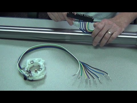 Vw Wiring Harness Plug Ididit Steering Column Wiring Youtube