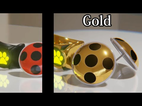 [Miraculous Ladybug] 7 Different Types Of Earrings & Ring [FAN MADE]
