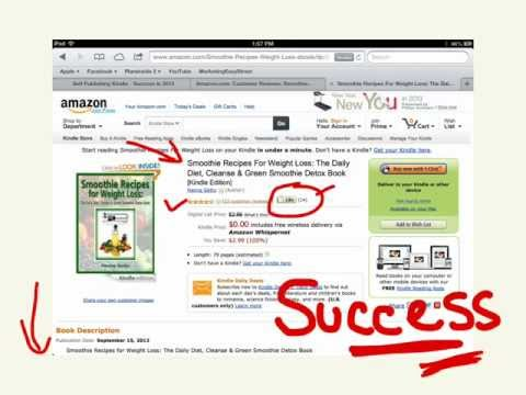 How To Promote A Book - Kindle Select Free Book Promo