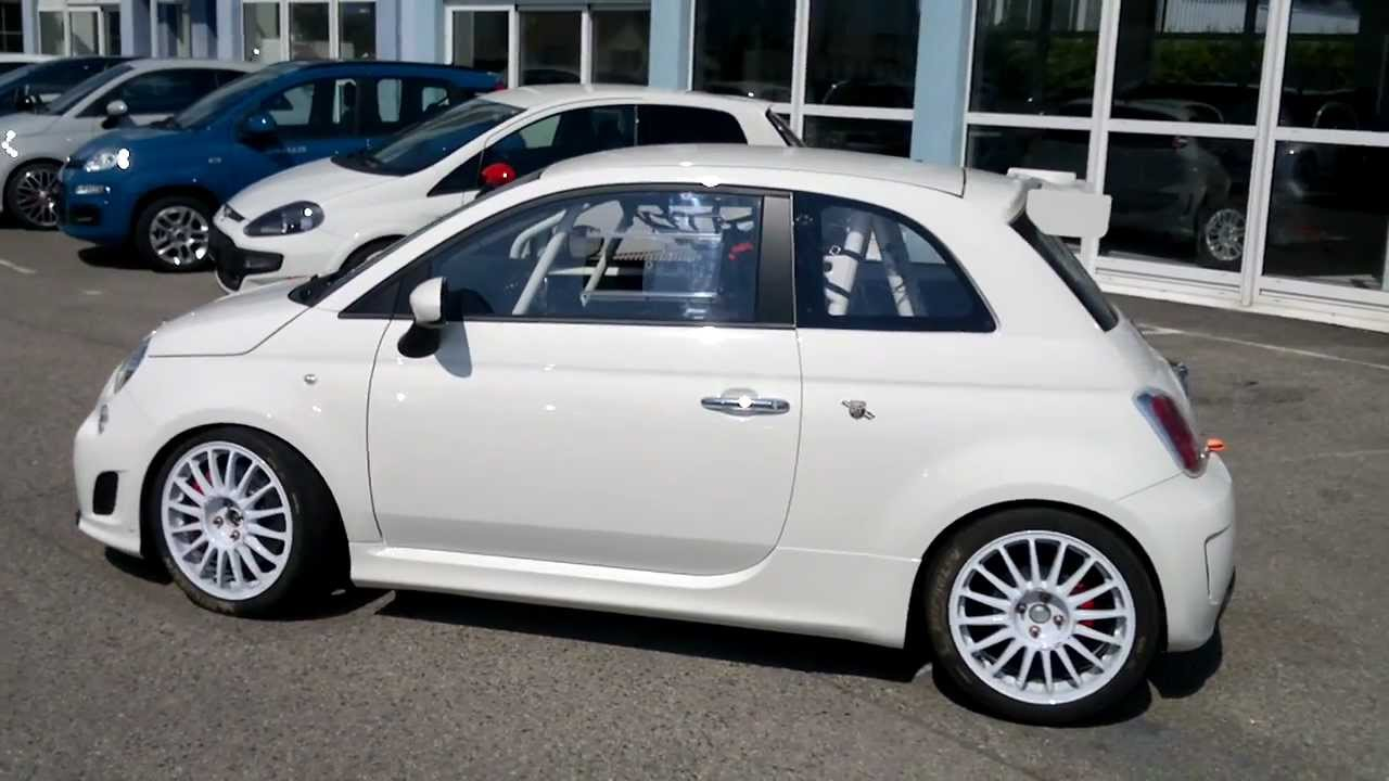 Abarth Fiat 500 Turbo 330 HP CV Racing SS Supercharged and special