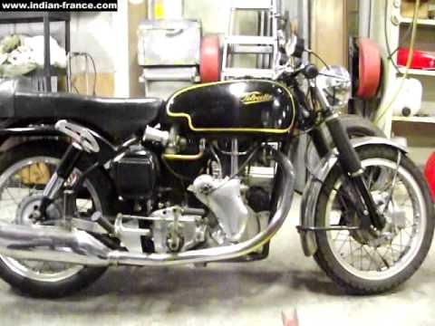 Starting A 1970 Velocette Thruxton