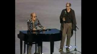Adriano Celentano e Teo Teocoli. Omaggio alla Russia