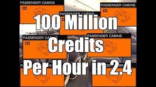 Elite: Dangerous - 100+ Million Credits Per Hour in 2.4