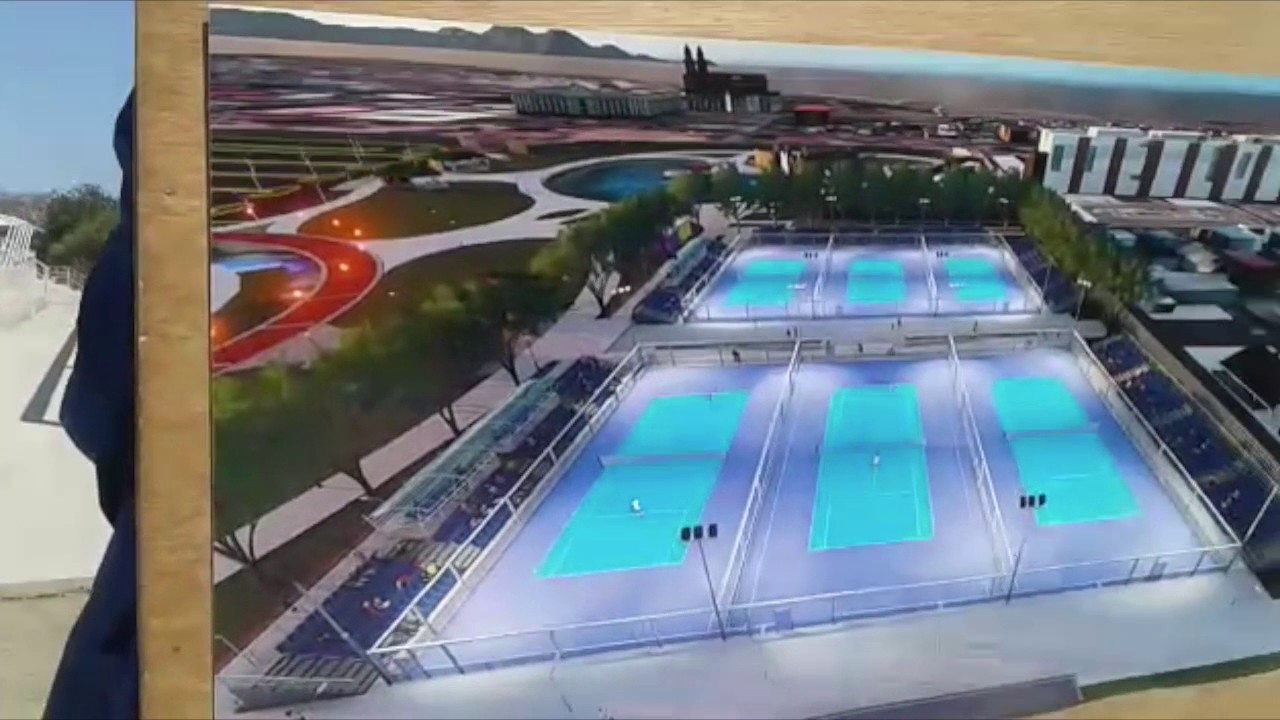 Asi Sera El Parque De Juegos Extremos Y Nuevas Canchas De Tenis En