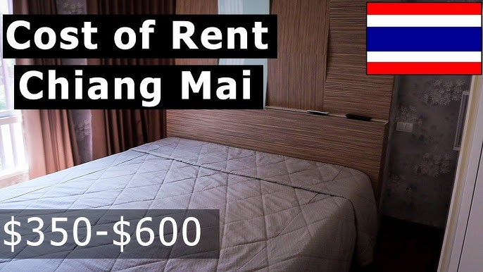 Rental Prices In Chiang Mai Thailand One Bedroom Apartments Condos 350 600 For 2019 Youtube