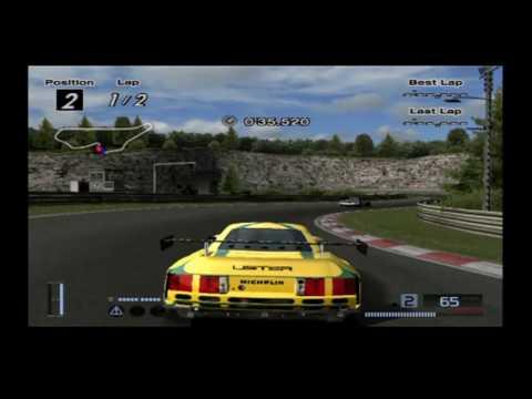 Lister Storm V12 Race Car
