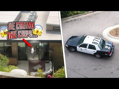 THE NEIGHBORS CALLED THE COPS ON ME FOR THIS... (they Showed Up) | FaZe Rug