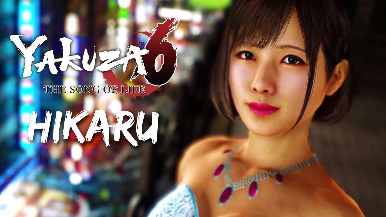 Yakuza 6 Hostess Romance: Hikaru (ENGLISH) - YouTube