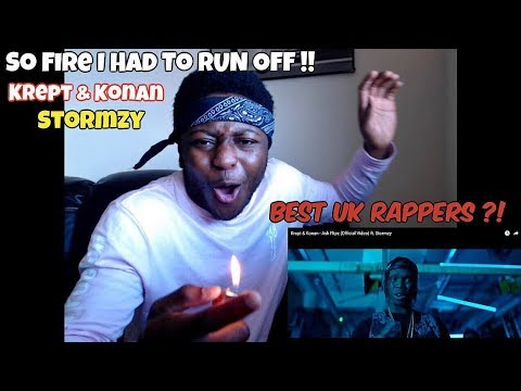BEST OF UK RAP ?! Krept & Konan - Ask Flipz (Official Video) ft. Stormzy - REACTION