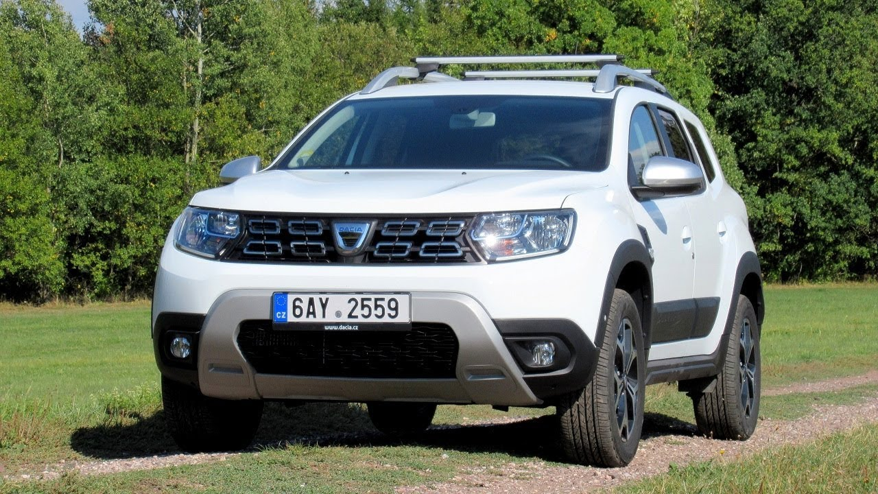 new dacia duster 2018 walkaround prestige in white colour youtube. Black Bedroom Furniture Sets. Home Design Ideas