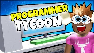 I MAKE VIDEO CARDS! -Danish Roblox: Programmeur Tycoon 2
