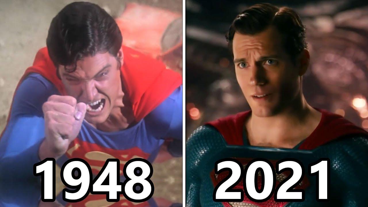 Download Evolution of SUPERMAN Movies and TV 1948 - 2021 (batman v superman)
