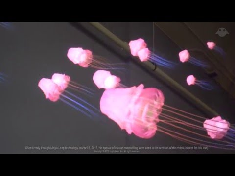 Magic Leap | Demos: Waking Up with Mixed Reality