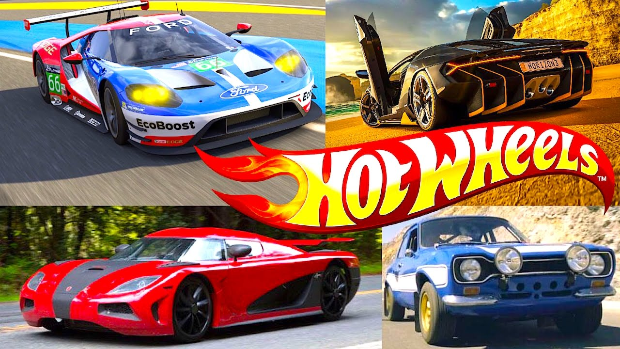 New Hot Wheels Forza Series, Fast And Furious, Need For Speed Replica Entertainment Sets - YouTube