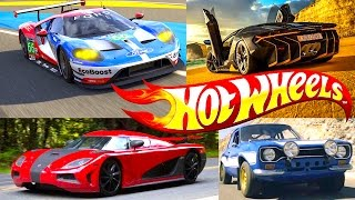 New Hot Wheels Forza Series, Fast And Furious, Need For Speed Replica Entertainment Sets