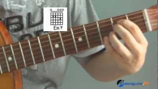 Нервы Наверно я слишком влюблён урок на гитаре Wmv