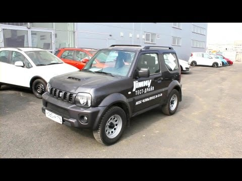 2013 Suzuki Jimny JLX. Start Up, Engine, and In Depth Tour.