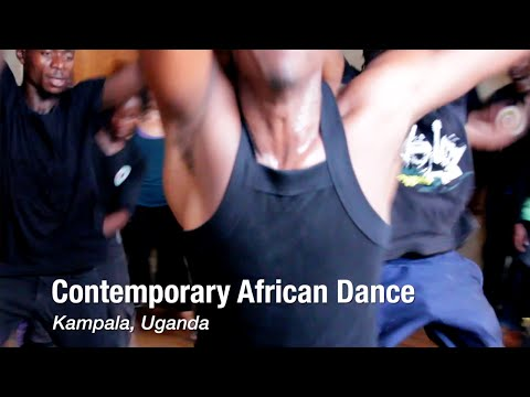 Contemporary African Dance in Kampala, Uganda