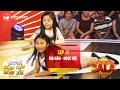 Thách thức danh hài 3 | tập 15 (gala 1): hai chị em bé Gia Hân chọc cười giám khảo liên tiếp 4 lần