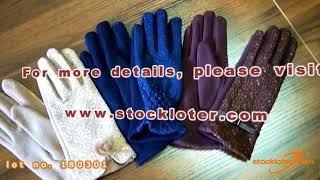 180301 VIDEO CLIP FOR LADIES FASHION GLOVES