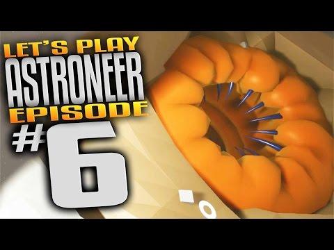 Astroneer Gameplay - Ep 6 - Astroneer Alien Ate My Face! (Let's Play Astroneer Gameplay)