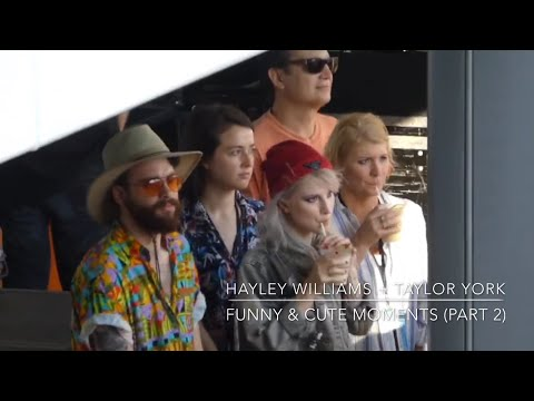 Hayley Williams And Taylor York (Paramore) | Funny & Cute Moments Part 2
