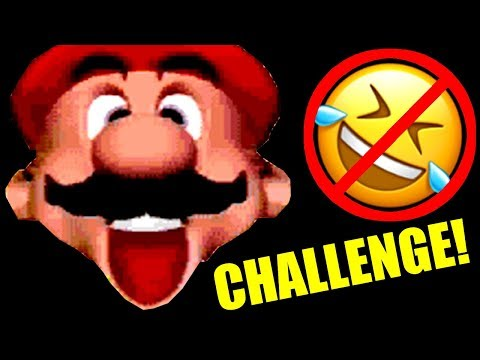Super Mario YOU LAUGH YOU LOSE CHALLENGE! (More Funniest Moments)