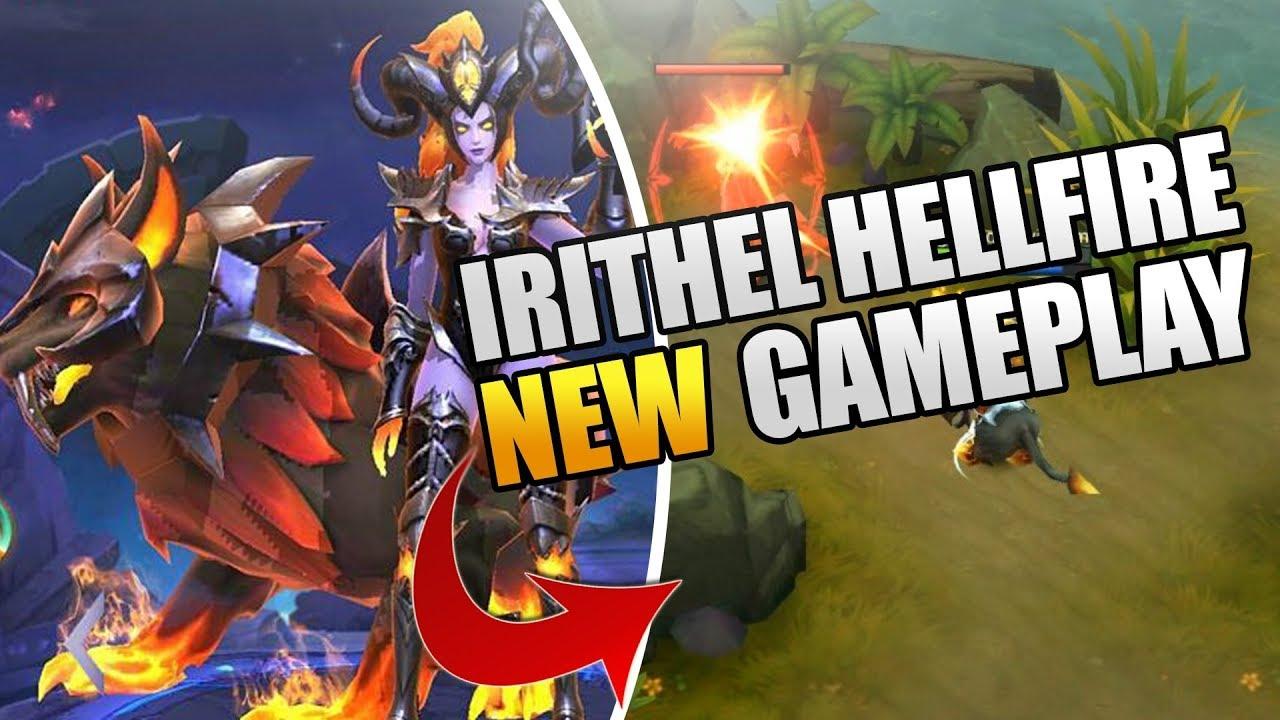 NEW Irithel HellFire Gameplay Mobile Legends