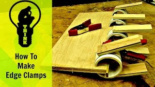 How to make edge clamps for 40 cents