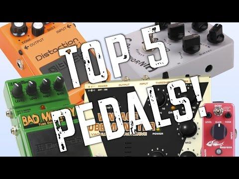 Top 5 Distortion Pedals Under $50!