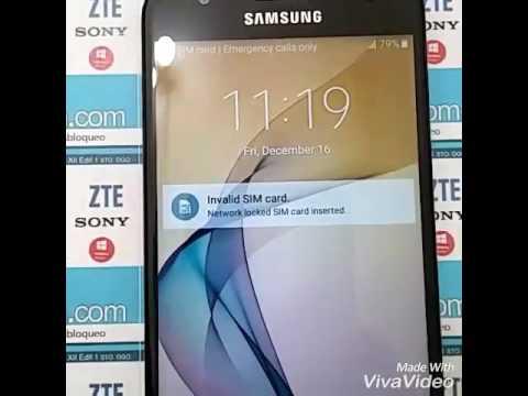 49dd61fd2d0 Samsung Galaxy J5 Prime SM-G570M. Unlock / Desbloqueo. (Liberar/imei)