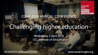 CGHE 2019 annual conference: Challenging higher education