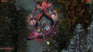 sacred Underworld. Full transformation into Anducar-Daemon (Multiplayer bug)