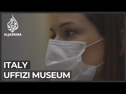 Uffizi museum reopens: Florentines enjoy break from mass tourism