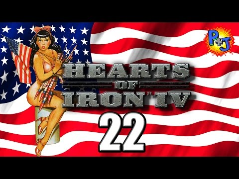 Let's Play Hearts of Iron 4 | Democratic United States Gameplay | USA Part 22