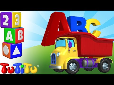Truck Letters | TuTiTu Preschool