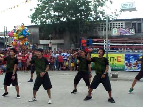 Hilongos Town Fiesta dance #-The Krumpage(Dec.22,2011)